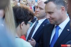 Prezydent Andrzej Duda w Lwówku Śląskim 43