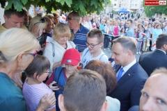 Prezydent Andrzej Duda w Lwówku Śląskim 49