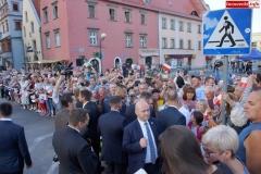 Prezydent Andrzej Duda w Lwówku Śląskim 52