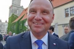 Prezydent Andrzej Duda w Lwówku Śląskim 59JPG