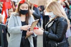 Protest kobiet Gryfów Śląski 05