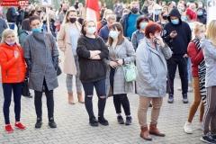 Protest kobiet Gryfów Śląski 09