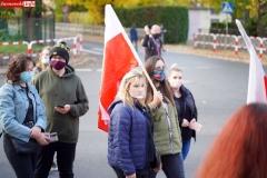 Protest kobiet Gryfów Śląski 10