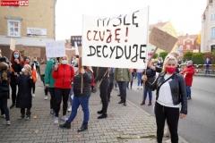 Protest kobiet Gryfów Śląski 13