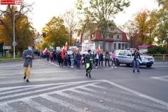 Protest kobiet Gryfów Śląski 15