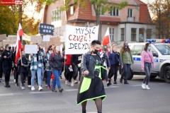 Protest kobiet Gryfów Śląski 16