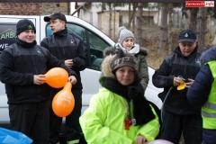 Blokada drogi krajowej - protest w Chmieleniu 04