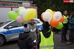 Blokada drogi krajowej - protest w Chmieleniu 06