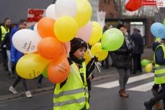Blokada drogi krajowej - protest w Chmieleniu 21