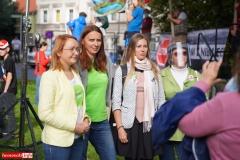 Protest w Mirsku. Stanowcze NIE dla odpadów z Niemiec 01