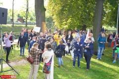 Protest w Mirsku. Stanowcze NIE dla odpadów z Niemiec 07