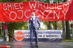 Protest w Mirsku. Stanowcze NIE dla odpadów z Niemiec 09