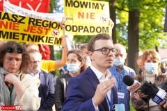 Protest w Mirsku. Stanowcze NIE dla odpadów z Niemiec 10