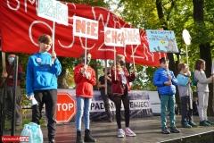 Protest w Mirsku. Stanowcze NIE dla odpadów z Niemiec 12