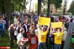 Protest w Mirsku. Stanowcze NIE dla odpadów z Niemiec 14