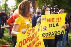 Protest w Mirsku. Stanowcze NIE dla odpadów z Niemiec 17