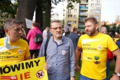 Protest w Mirsku. Stanowcze NIE dla odpadów z Niemiec 22