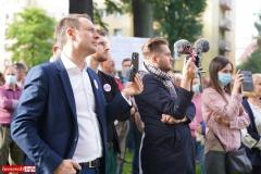 Protest w Mirsku. Stanowcze NIE dla odpadów z Niemiec 24