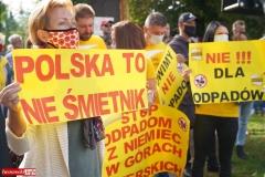 Protest w Mirsku. Stanowcze NIE dla odpadów z Niemiec 25