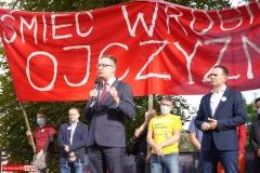 Protest w Mirsku. Stanowcze NIE dla odpadów z Niemiec 26