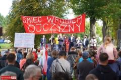 Protest w Mirsku. Stanowcze NIE dla odpadów z Niemiec 28