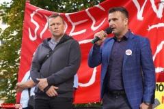 Protest w Mirsku. Stanowcze NIE dla odpadów z Niemiec 31