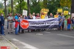 Protest w Mirsku. Stanowcze NIE dla odpadów z Niemiec 33