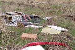 Rębiszów - dzikie wysypisko śmieci 11