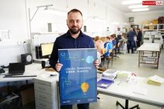 Piotr Gabriel nauczyciel informatyki w ZSE-T w Rakowicach Wilkich 1