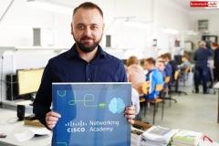 Piotr Gabriel nauczyciel informatyki w ZSE-T w Rakowicach Wilkich 2