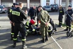 Saperzy prowadzą szkolenie lwóweckich strażaków 1