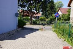 Lwówek Śląski ścieżka rowerowa Budowlanych - Wiejska 1