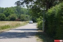 Lwówek Śląski ścieżka rowerowa Budowlanych - Wiejska 5