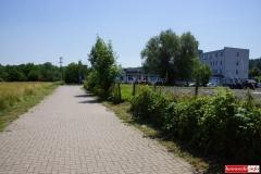Lwówek Śląski ścieżka rowerowa Budowlanych - Wiejska 6
