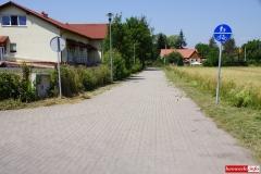 Lwówek Śląski ścieżka rowerowa Budowlanych - Wiejska 7