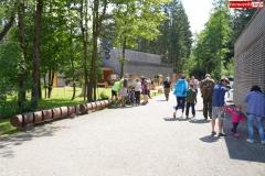 Ścieżka w koronach drzew. Karkonosze Czechy Janské Lázně  (3)