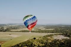 Lubomierz ślub w balonie 1