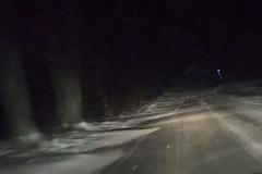 śnieżne wydmy na drogach 2