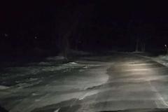 śnieżne wydmy na drogach 5