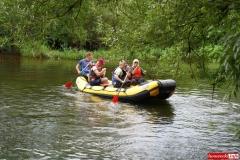 Spływ kajakowo- pontonowy rzeką Bóbr 06