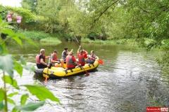 Spływ kajakowo- pontonowy rzeką Bóbr 07