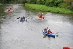 Spływ kajakowo- pontonowy rzeką Bóbr 13