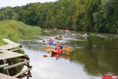 Spływ kajakowo- pontonowy rzeką Bóbr 17