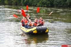 Spływ kajakowo- pontonowy rzeką Bóbr 23