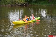 Spływ kajakowo- pontonowy rzeką Bóbr 32