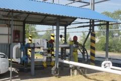 Ćwiczenia strażaków w Magazynie i Rozlewni Gazu w Rakowicach Małych  04