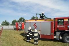 Ćwiczenia strażaków w Magazynie i Rozlewni Gazu w Rakowicach Małych  05