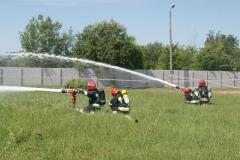 Ćwiczenia strażaków w Magazynie i Rozlewni Gazu w Rakowicach Małych  07