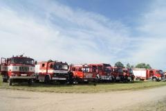 Ćwiczenia strażaków w Magazynie i Rozlewni Gazu w Rakowicach Małych  15