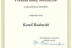 Dyplom Kamil